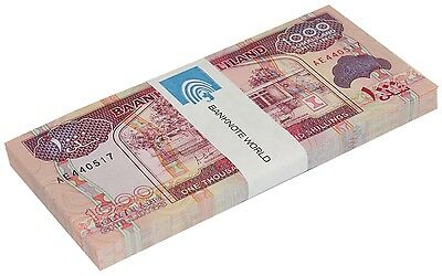 Somaliland 1,000 (1000) Shillings X 100 Pieces (PCS),2011, P-20a,UNC,Bundle,Pack