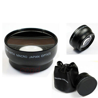 HD 72MM 0.45x Wide Angle Macro Lens for Canon Nikon Sony Pentax 72MM DSLR Camera