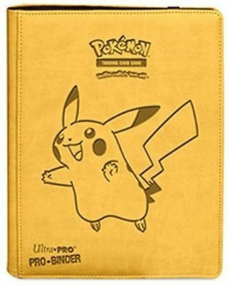 Pikachu Premium Pokemon Ultra Pro Binder 9 / 18 Pocket Portfolio 360 Cards