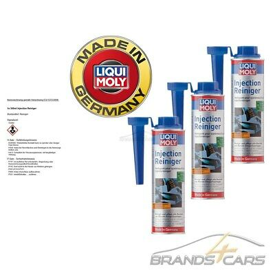 3x 300ml LIQUI MOLY INJECTION REINIGER BENZIN EINSPRITZANLAGE ADDITIV 31567136