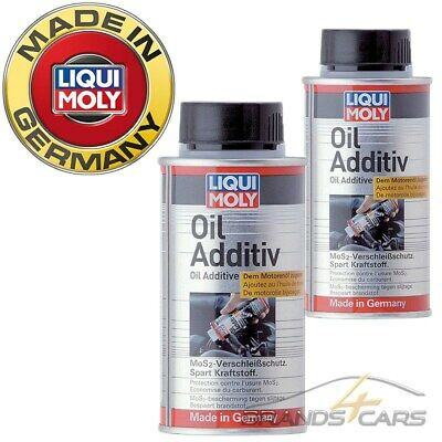 2x 125ml LIQUI MOLY OIL ADDITIV MoS2-VERSCHLEISS-SCHUTZ ÖL-ADDITIV 31562360