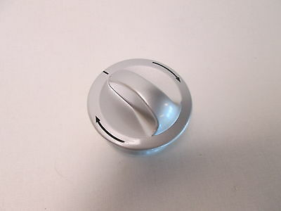 Haier 0020200200A Replacement Program Controller Knob - Silver #20D114