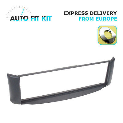 Smart Coupe ForTwo 1 Din Single DIN Fascia Radio Stereo Replacement Kit Grey
