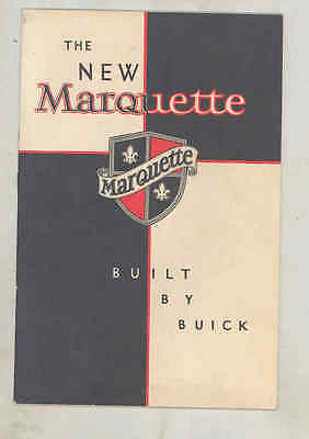 1929 Buick Marquette Mechanical Features Brochure wu7337