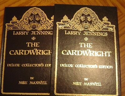 The CARDWRIGHT Signed LARRY JENNINGS Limited Deluxe 1st Edition 1988 MINT