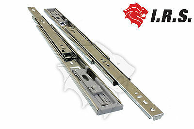 400mm Soft Close 45kg Full Extension Ball Bearing cabinet Drawer Slides Runners