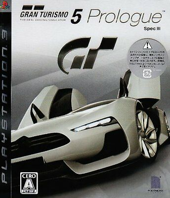 (Used) PS3 Gran Turismo 5 Prologue Spec III  [Import Japan]((Free Shipping)