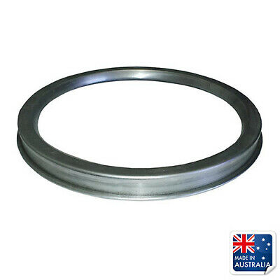 "Pizza Saucing Ring for 9"" / 230mm Pan, Commercial Pizza Prep Tool"