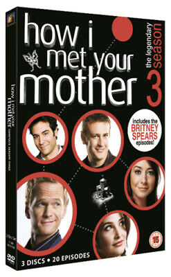How I Met Your Mother: The Complete Third Season DVD (2010) Josh Radnor cert 15