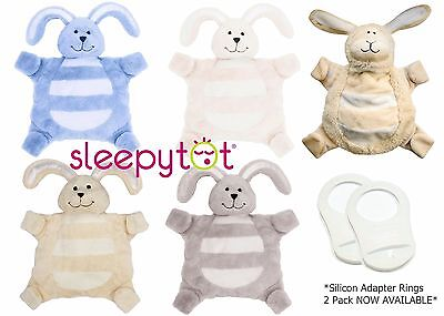Sleepytot BUNNY/LAMB Baby Comforter Dummy Soother Pacifier| Blue/Pink/Cream/Grey