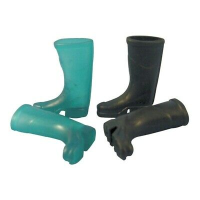 Miniature Wellington Boots For Fairy Gardens - Choice Of 2 Colours - New