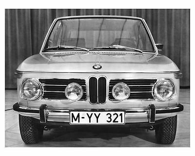 1968 BMW Touring 2000 tii Automobile Photo Poster zch6740
