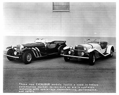 1966 Excalibur SS & SSK Automobile Photo Poster zca1914