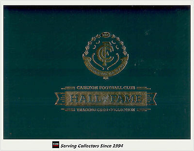 150 Years Carlton Football Club Hall Of Fame Album Set (174 + 9 Signature Cards)