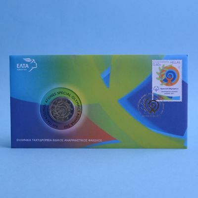 "Griechenland 2 Euro 2011 ""Special Olympics"" Numisbrief"