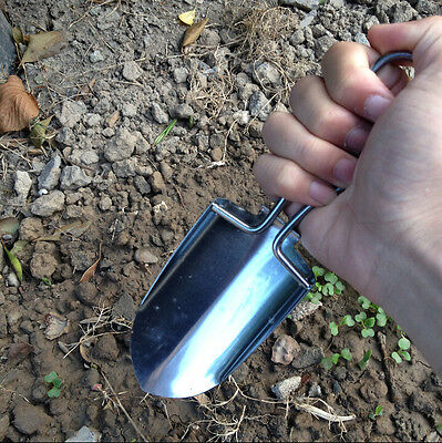 Outdoor Equipment Fold Small Stainless Steel Shovel Portable Shovel Outdoor Tool