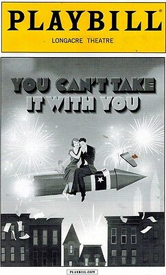 Can't Take It With You Broadway Playbill - James Earl Jones