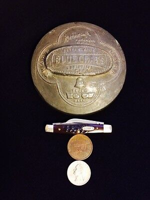 Memorabilia Vintage Belknap Blue Grass Weight Antique Louisville