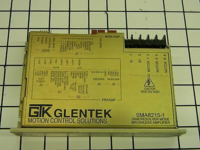 GTK Glentek SMA8215-1 Brushless Servo Amplifier A4