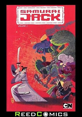 SAMURAI JACK VOLUME 1 GRAPHIC NOVEL New Paperback Collects Issues #1-5 by IDW