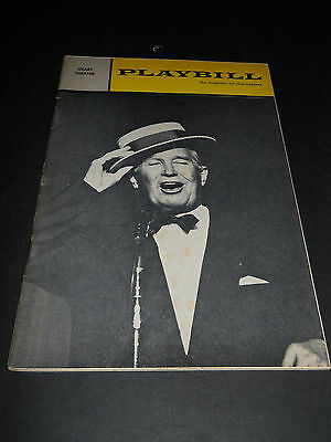 November 1964 Playbill - An Evening With Maurice Chevalier, Geary Theatre