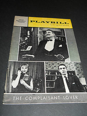 October 1961 Playbill - The Complaisant Lover, Ethel Barrymore Theatre