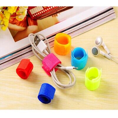 20Pcs Wire Cord Cable Drop Clips Organizer Ties Management Holder New