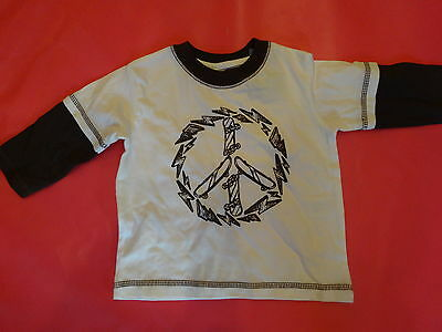 Nwt Boys Gymboree Skateboard T Shirt Top Sz 6 12 Mo