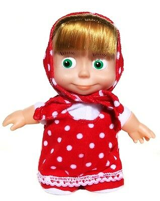 Russian Walking And Talking Masha Doll (Voice Activated). Masha and Medved toy