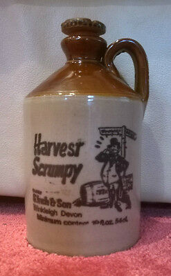 RUSTIC HARVEST SCRUMPY VESSEL FROM WINKLEIGH, DEVON - FREE 2ND CLASS P&P