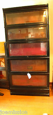 Antique  Barrister  Bookcase   GLOBE Wernicke       STICKLEY ERA    ff372