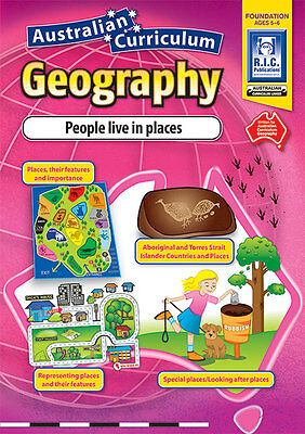 Foundation People Live in Places Aust Geography BNew Teacher Resource BLM