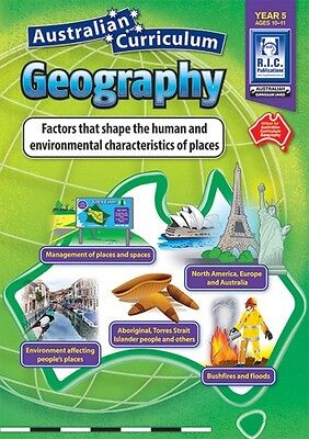 Year 5 Characteristics of Places Aust Geography BNew Teacher Resource BLM