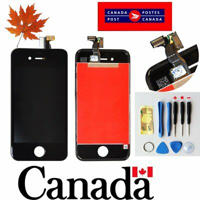 Replacement LCD Touch Screen Digitizer Glass Assembly  for iPhone 4s GSM   Black