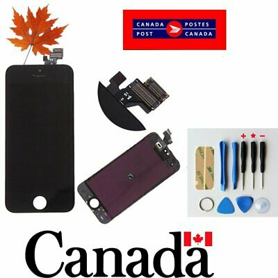 Replacement LCD Touch Screen Digitizer Glass Assembly  for iPhone 5 5G  Black