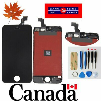 Replacement LCD Touch Screen Digitizer Glass Assembly  for iPhone 5C   Black