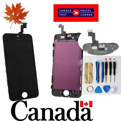 Replacement LCD Touch Screen Digitizer Glass Assembly  for iPhone 5S  Black