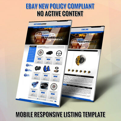 Unique eBay Store Templates & Listing Auction HTML Template - Free Installation