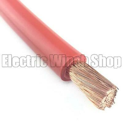 35mm2 Battery Cable - Red - Per Metre