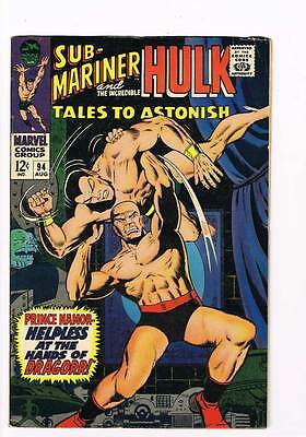 Tales to Astonish # 94  At the Hands of Dragorr ! grade 5.0 scarce hot book !!