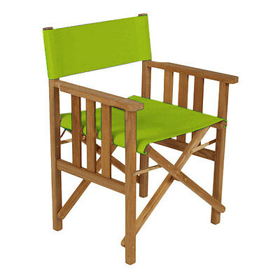 Lime Green Director Chairs Replacement Polyurethane Coated Canvas Covers Garden