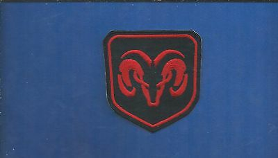NEW 3 1/4 X 3 INCH DODGE RAM IRON ON PATCH FREE SHIPPING