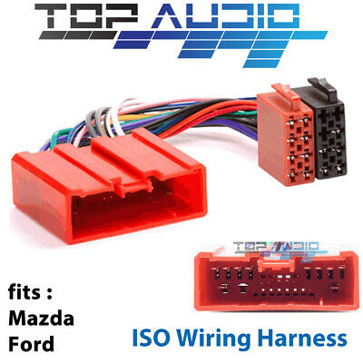 Ford Ranger PJ PK ISO wiring harness adaptor cable connector lead loom plug wire