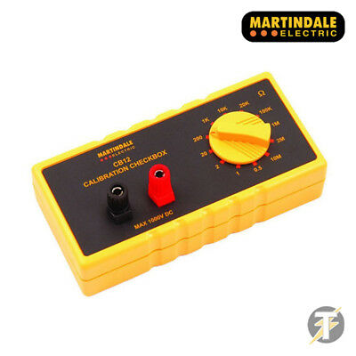 Martindale CB12 Resistance & Continuity Electric Calibration Checkbox