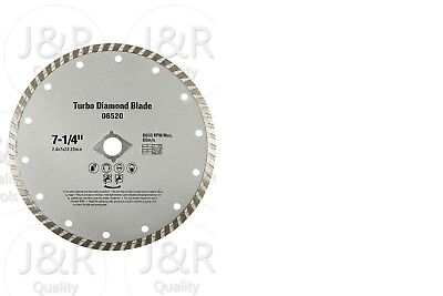 "7"" Diamond Blade Wet / Dry Turbo for Circular, or Wet Tile Saw Tools"