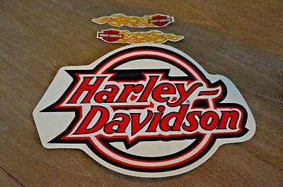 "New Harley Davidson Decal Sticker 9.25"" Outside Application Large Circle Logo"