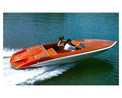 1976 Glastron Carlson CVX 20 Power Boat Factory Photo ud0944