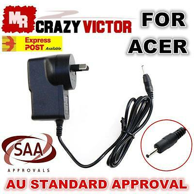 SAA PASSED Power Supply Charger For Acer Iconia A500 A501 A100 A101 A200 Tablet