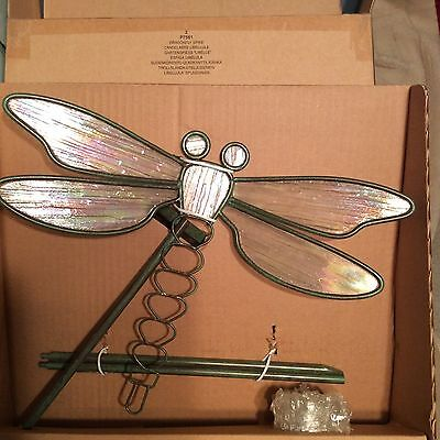 Partylite Dragonfly Spike Candle Holder