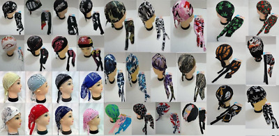 100pc Assorted Skull Caps Wholesale Bulk Skull Cap Lot Bandanas Du Rag Doo Rags